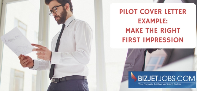 Pilot Cover Letter Example From Aviation Hr Expert Angie Marshall