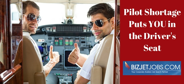 what does the pilot shortage mean for corporate pilot jobs